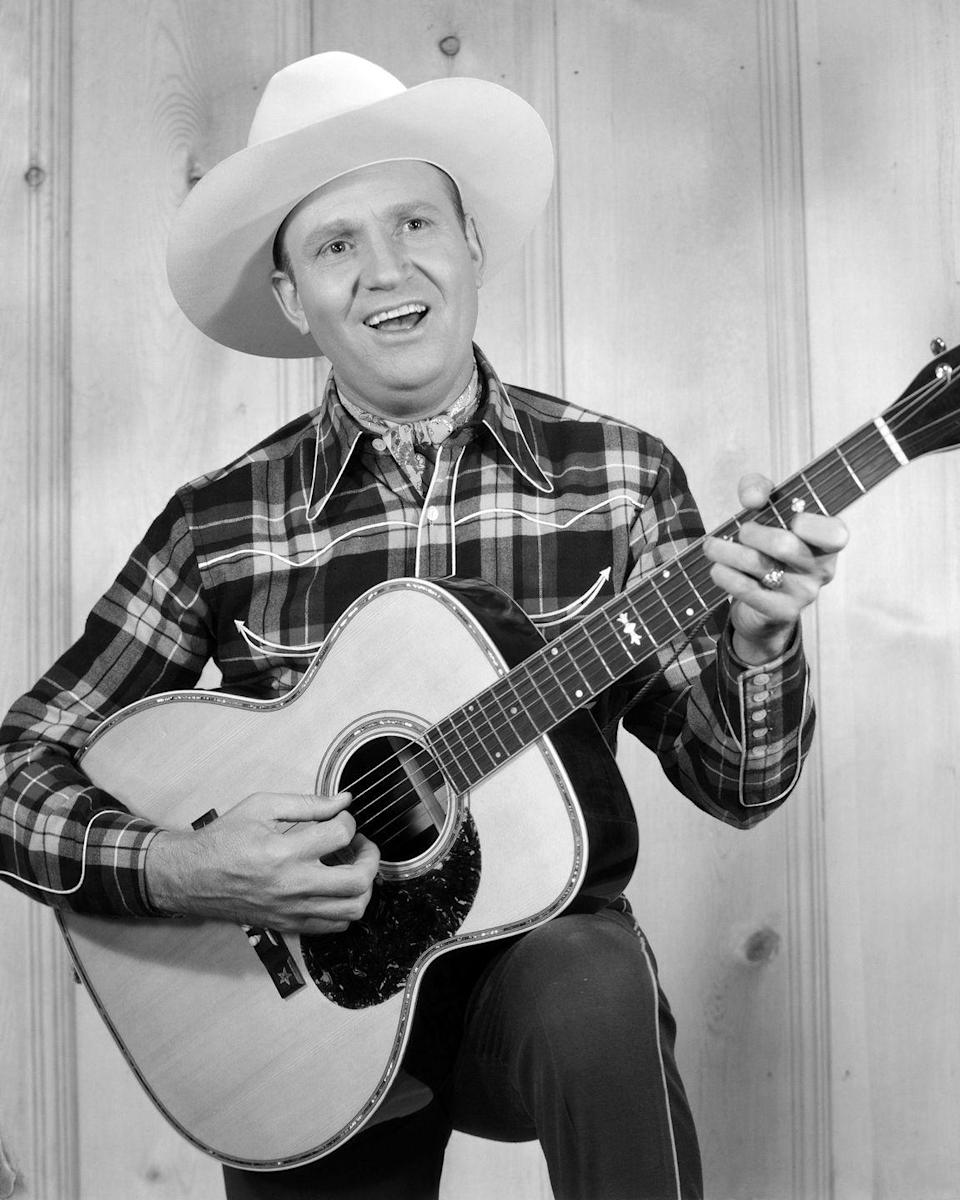 """<p>Gene Autry is the performer behind this song <em>and</em> """"<a href=""""https://www.amazon.com/Rudolph-the-Red-Nosed-Reindeer/dp/B001384U5O?tag=syn-yahoo-20&ascsubtag=%5Bartid%7C10055.g.2680%5Bsrc%7Cyahoo-us"""" rel=""""nofollow noopener"""" target=""""_blank"""" data-ylk=""""slk:Rudolph the Red-Nosed Reindeer"""" class=""""link rapid-noclick-resp"""">Rudolph the Red-Nosed Reindeer</a>,"""" so it's a voice you've been attached to since you were a little kid.</p><p><a class=""""link rapid-noclick-resp"""" href=""""https://www.amazon.com/Frosty-the-Snowman-78rpm-Version/dp/B001380N96/?tag=syn-yahoo-20&ascsubtag=%5Bartid%7C10055.g.2680%5Bsrc%7Cyahoo-us"""" rel=""""nofollow noopener"""" target=""""_blank"""" data-ylk=""""slk:AMAZON"""">AMAZON</a> <a class=""""link rapid-noclick-resp"""" href=""""https://go.redirectingat.com?id=74968X1596630&url=https%3A%2F%2Fitunes.apple.com%2Fus%2Falbum%2Ffrosty-the-snowman%2F192682573&sref=https%3A%2F%2Fwww.goodhousekeeping.com%2Fholidays%2Fchristmas-ideas%2Fg2680%2Fchristmas-songs%2F"""" rel=""""nofollow noopener"""" target=""""_blank"""" data-ylk=""""slk:ITUNES"""">ITUNES</a></p><p><strong>RELATED:</strong> <a href=""""https://www.goodhousekeeping.com/holidays/christmas-ideas/g29039735/best-country-christmas-songs/"""" rel=""""nofollow noopener"""" target=""""_blank"""" data-ylk=""""slk:25 Catchy Country Christmas Songs You Should Start Listening to Now"""" class=""""link rapid-noclick-resp"""">25 Catchy Country Christmas Songs You Should Start Listening to Now</a></p>"""