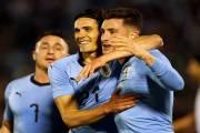 Uruguay came second in the CONMEBOL (South American Football Confederation) table in the World Cup Qualifying play-offs.