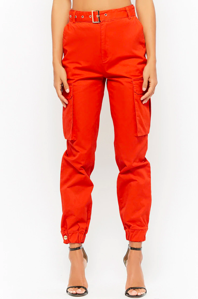 Forever 21 Belted Cargo Pants, $45 (Photo: Forever 21)
