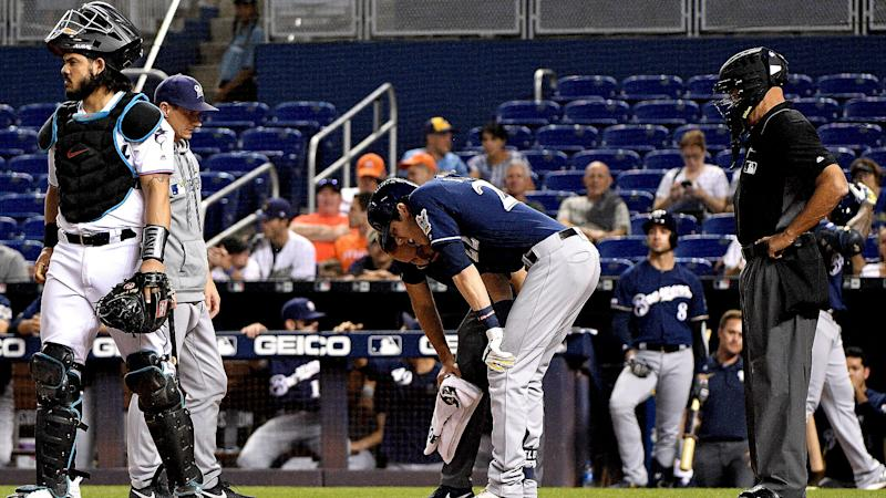 Brewers star Yelich opens up about season-ending knee injury