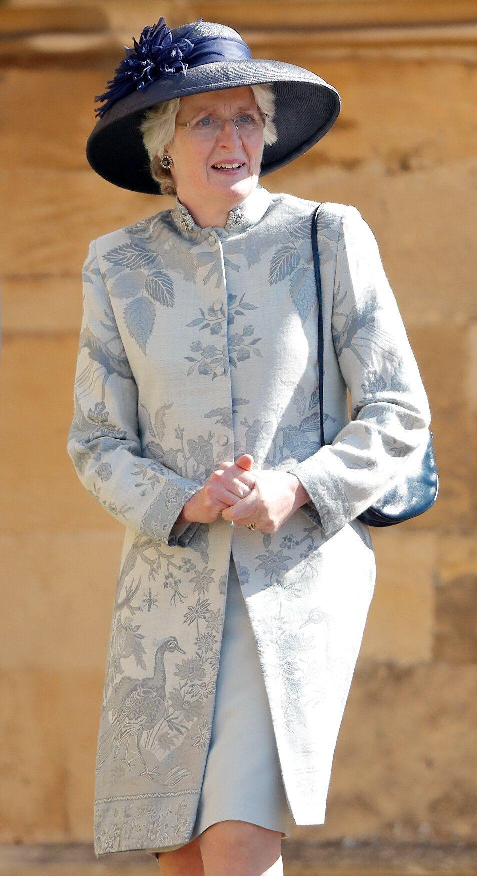 Lady Jane Fellowes at Meghan and Harry's wedding last May [Photo: Getty]