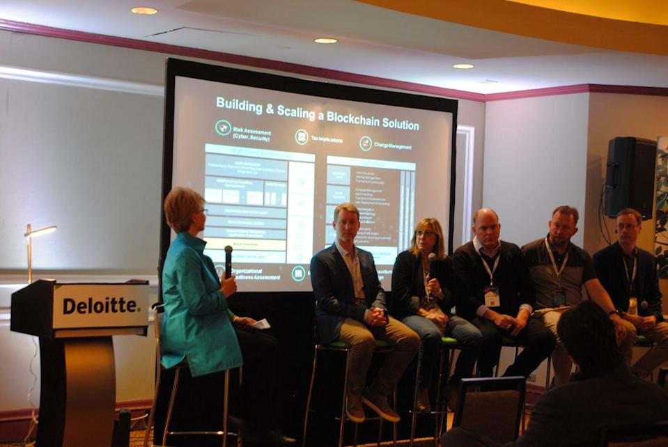 'Big Four' financial service giant Deloitte revealed at Consensus 2019 that it would launch a