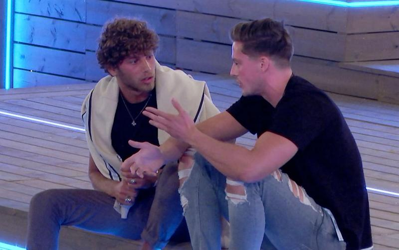 Head to head: Eyal and Dr Alex fought over Megan(ITV)