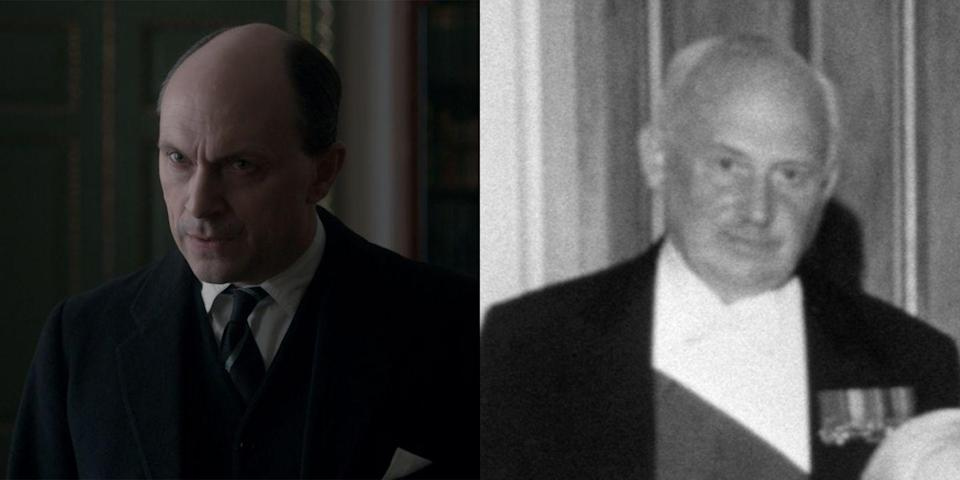 <p>Michael Adeane (portrayed by Will Keen) began his tenure at Buckingham Palace in 1945 when he served as the assistant private secretary to Elizabeth's father, King George VI. Not long after the king's death, Adeane was promoted to private secretary under the new monarch, Queen Elizabeth. He would hold the same position for the next 20 years. In 1979, Adeane's son followed his father's footsteps and began a six-year run as Prince Charles's private secretary.</p>