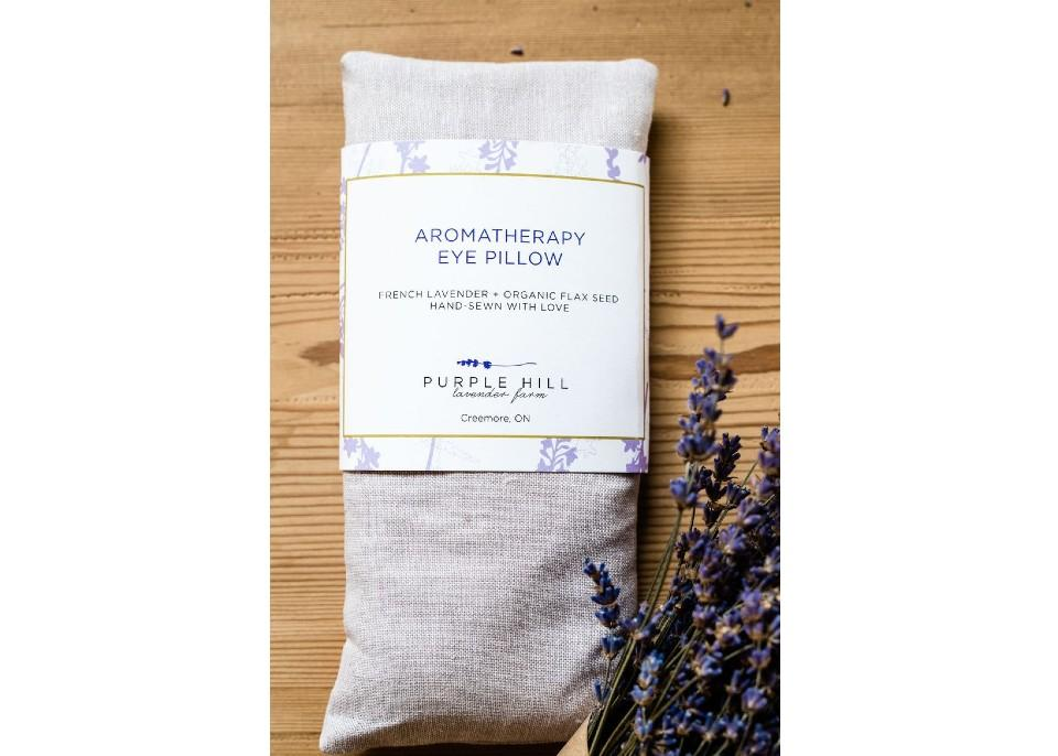 Lavender Eye Pillow. (Image via Purple Hill Lavender Farm)