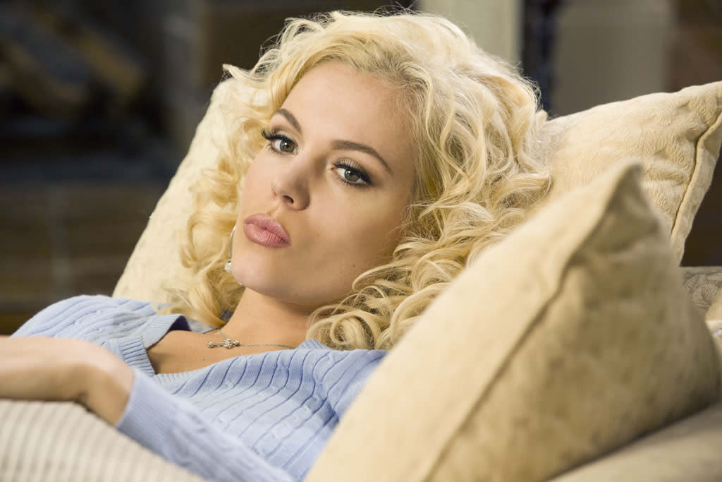 "Agnes Bruckner stars as Anna Nicole Smith in the Lifetime Original Movie, ""Anna Nicole."""