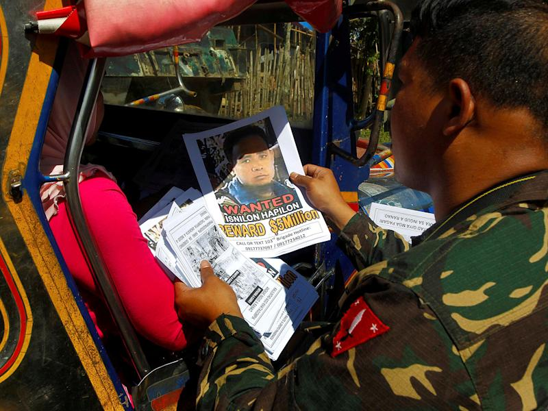 Hapilon was one of the FBI's most-wanted terror suspects: REUTERS