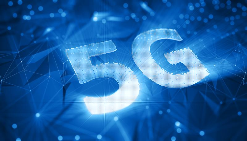 abstract wireless 5G wifi technology