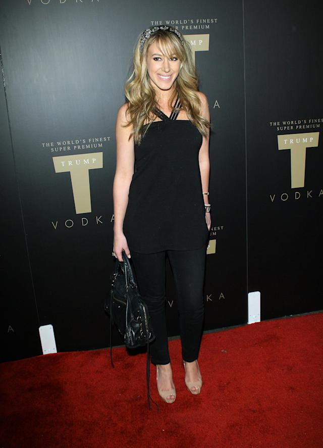 Haylie Duff was down to party. (Photo: M. Tran/FilmMagic)