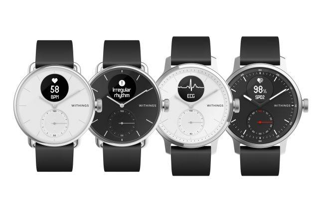 Withings's new watch can detect atrial fibrillation and sleep apnea