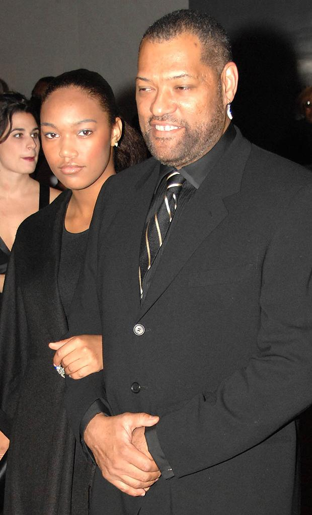 Laurence fishburne daughter