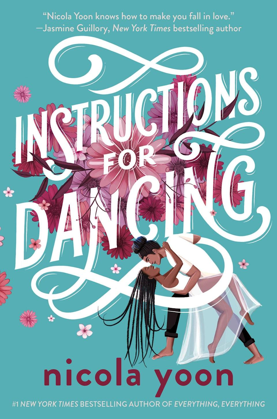 <p>Bestselling author Nicola Yoon is back with another stunning YA romance. <span><strong>Instructions for Dancing</strong></span> follows Evie Thomas, who loses her faith in love when she discovers she can tell how people's relationships will end just by looking at them. Still, even though her faith in love has been rattled, she can't stop herself from falling for her dance partner, X, at the La Brea Dance Studio. </p> <p><em>Out June 1</em></p>