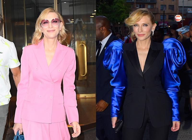 Cate Blanchett Proves a Little Volume Goes a Long Way for Chic Day-to-Night Hair