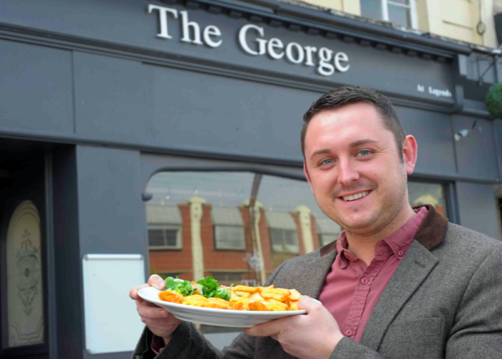 Craig Harker is the landlord of The George Pub and Grill in Stockton-on-Tees. (Reach)