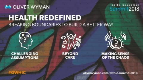 6thAnnual Oliver Wyman Health Innovation Summit Focuses on Breaking Boundaries to Build a Better Way