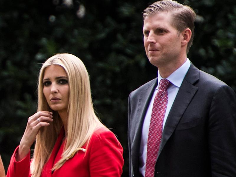 ivanka and eric trump