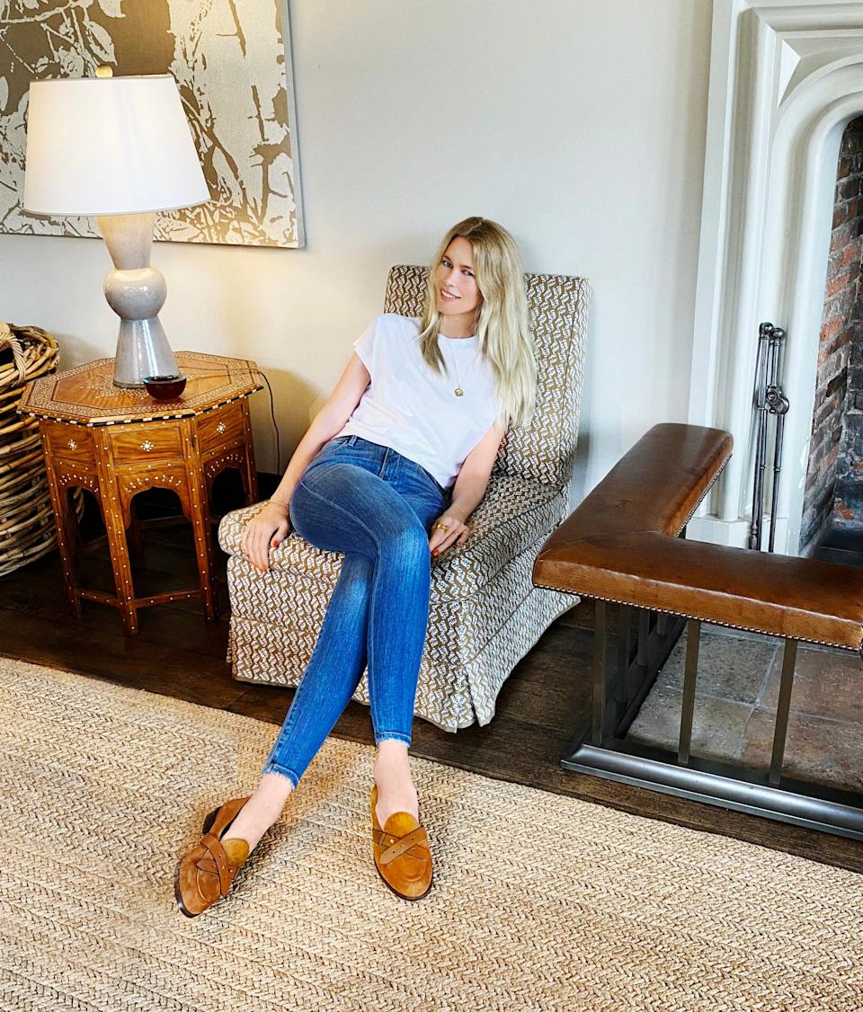 Claudia Schiffer at home in Oxfordshire - Lucie McCullin