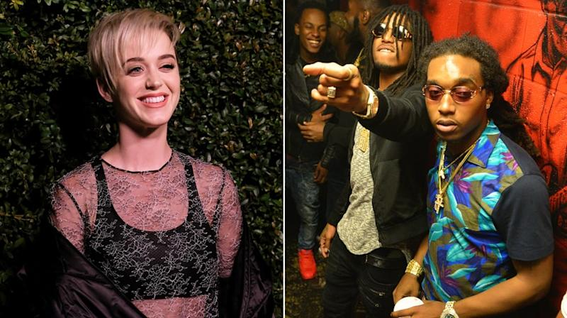 Hear Katy Perry's Seductive New Song 'Bon Appetit' With Migos