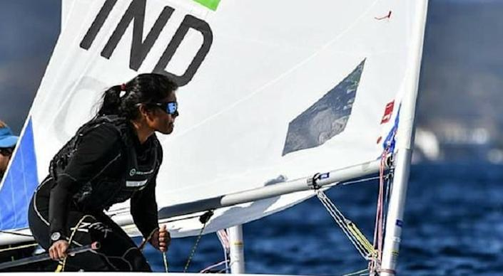 Nethra Kumanan from Chennai became the first Indian woman sailor to earn a berth for the upcoming Olympics |Image : Twitter