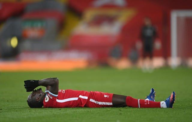 Sadio Mane has struggled in front of goal recently (Laurence Griffiths/PA)