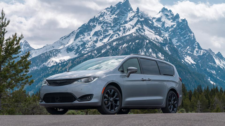 2020 Chrysler Pacifica Limited with S Appearance.