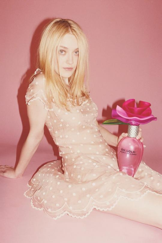 """<p>At 17, Dakota Fanning was tapped by Marc Jacobs to front the Oh, Lola fragrance, which were released in November 2011. The ads, shot by prolific fashion photographer Juergen Teller, depicted the actress in a pale pink polka dot dress with an oversized bottle between her legs. While pretty innocent, the ASA didn't agree. We considered that the length of her dress, her leg and position of the perfume bottle drew attention to her sexuality,"""" the non-government body said. """"Because of that, along with her appearance, we considered the ad could be seen to sexualise a child."""" But Fanning and Jacobs just laughed it off. When asked by <a href=""""http://www.glamour.com/fashion/blogs/dressed/2013/01/glamours-march-2013-cover-star"""" rel=""""nofollow noopener"""" target=""""_blank"""" data-ylk=""""slk:""""Glamour"""""""" class=""""link rapid-noclick-resp"""">""""Glamour""""</a> if she was surprised by the strong reaction, she replied, """"""""Yeah, I was! If you want to read something into a perfume bottle, then I guess you can. But it's also like, Why are you making it about that, you creep? I love Marc and trust him, and we just laughed about it.""""</p>"""