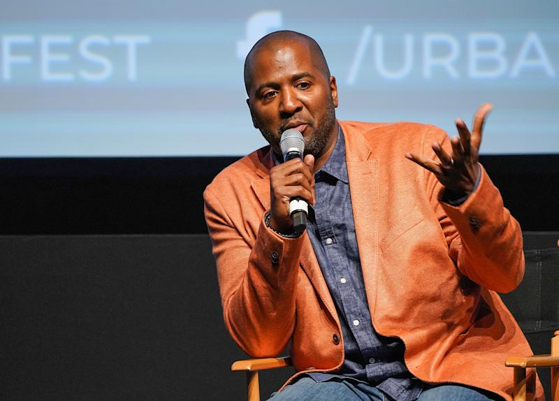 NEW YORK, NY - SEPTEMBER 19: Director Malcolm D. Lee speaks at the Q&A follwing the premiere of Night School during the 2018 Urbanworld Film Festival at SVA Theater on September 19, 2018 in New York City. (Photo by J. Countess/Getty Images)