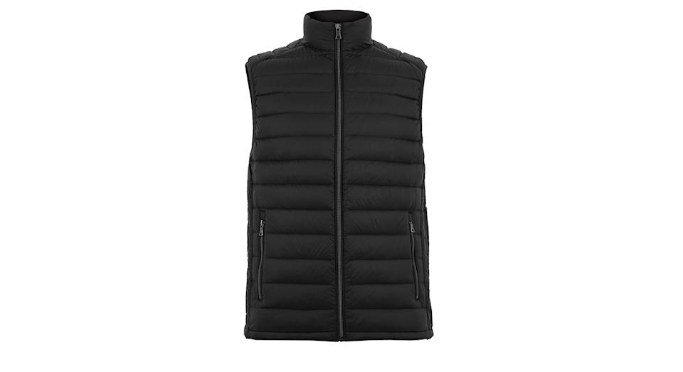 Down & Feather Padded Gilet with Stormwear