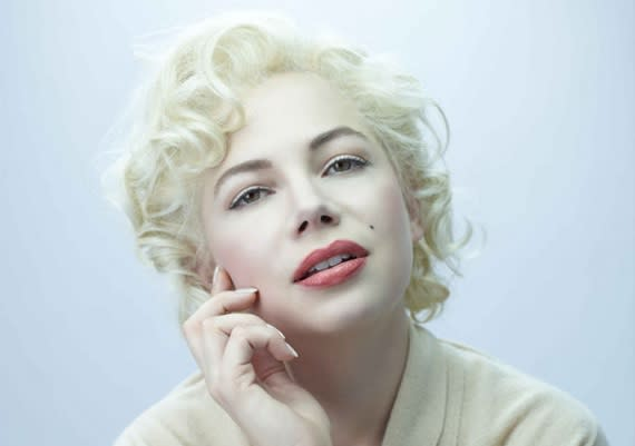 "Michelle Williams — ""My Week with Marilyn"" — Sure, the former ""Dawson's Creek' star managed to turn playing Marilyn Monroe into an Oscar-nominated performance, but sadly, beyond Williams' shining light, the rest of the film about Monroe's brief time in England was pretty dull biopic stuff."