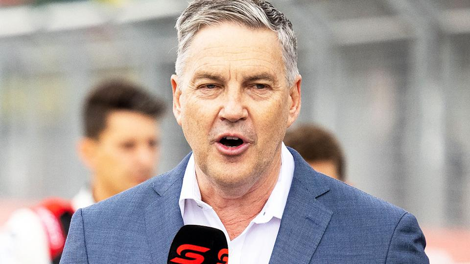 Neil Crompton, pictured here at the 2021 Supercars season launch.