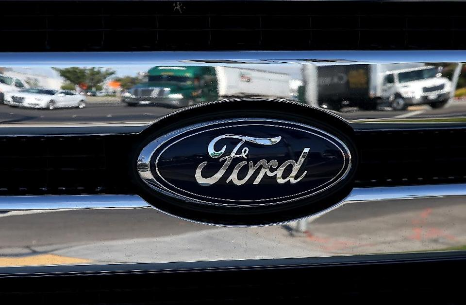 Ford announced plans to 7,000 jobs globally, about 10 percent of its workforce (AFP Photo/JUSTIN SULLIVAN)