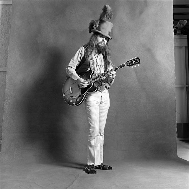 "<p>Leon Russell was a top studio musician before setting out on a solo career, and wrote many hits for other artists before he decided to give it a try himself. He died at age 74 on November 13. — (Pictured) A studio portrait of Leon Russell for ""Mad Dogs and Englishmen"" album cover circa 1970. (Jim McCrary/Redferns via Getty Images) </p>"