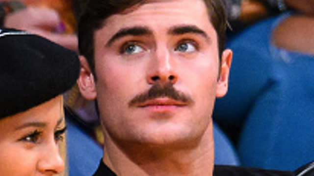 An Ode To Zac Efron's New Mustache