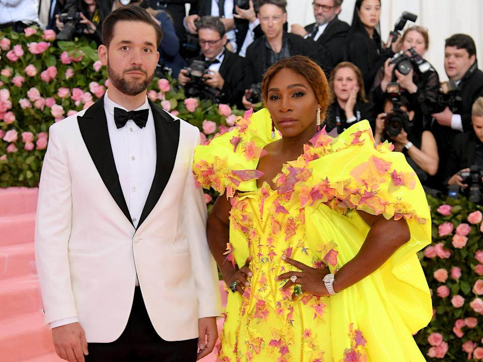 Alexis Ohanian explains why he is perfectly fine being known as Serena Williams' husband (Getty Images)