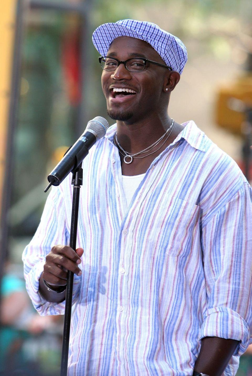 <p>Taye Diggs originated the role of Benny in the original run of <em>Rent</em> in 1996. A year later, he debuted on TV in the soap opera <em>Guiding Light. </em>In 1998, he crossed over to make his big-screen debut in the blockbuster <em>How Stella Got Her Groove Back. </em></p>