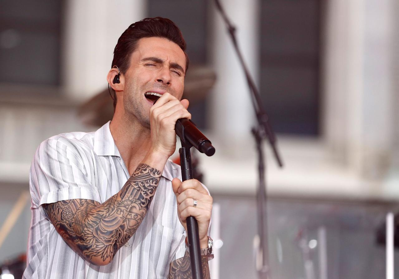 """<p>We'll get right to it: <a rel=""""nofollow"""" href=""""https://www.countryliving.com/life/entertainment/a25349577/the-voice-adam-levine-carson-daly-joke/"""">Adam Levine</a> has a <em>lot</em> of tattoos. Some say the <a rel=""""nofollow"""" href=""""https://www.countryliving.com/life/entertainment/a25921761/maroon-5-band-members-adam-levine/"""">Maroon 5</a> singer <a rel=""""nofollow"""" href=""""https://www.ranker.com/list/adam-levine-tattoos/tat-fancy"""">has 15</a>, others <a rel=""""nofollow"""" href=""""https://bodyartguru.com/adam-levine-tattoos/"""">suspect 17</a>. Our best guess would be somewhere in the mid 20s. But regardless of the number, there's no debating that <em>The Voice</em> coach <a rel=""""nofollow"""" href=""""https://www.thecut.com/2016/02/adam-levine-tattoos-taxonomy.html"""">boasts a ton of body art</a>-and has no shame showing it off, either. </p><p>""""I spend most of my life naked,"""" Adam once told <a rel=""""nofollow"""" href=""""https://www.huffingtonpost.com/2011/01/06/adam-levine-nude-marron-5-singer-gets-naked-for-cancer-in-cosmo-uk_n_805399.html""""><em>Cosmo UK</em>. </a>""""But I live in California, where it's always warm so, why not?"""" </p><p>We feel you! So instead of wasting time pondering why we see so much of Adam's skin, let's just jump right in and get a good look at the many, many symbols that he's permanently etched on his arm, chest, back, and more.</p>"""