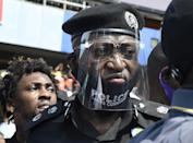 Nigeria's police have been the main target of the protests