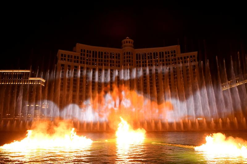 There be dragons at the Fountains of Bellagio (Photo: Getty Images for MGM Resorts)