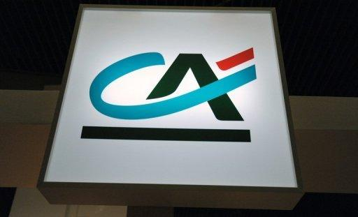 France's Credit Agricole posts record loss in 2012