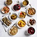 """<p><strong>olympia provisions</strong></p><p>food52.com</p><p><strong>$210.00</strong></p><p><a href=""""https://go.redirectingat.com?id=74968X1596630&url=https%3A%2F%2Ffood52.com%2Fshop%2Fproducts%2F4407-olympia-provisions-pickle-of-the-month-club&sref=https%3A%2F%2Fwww.townandcountrymag.com%2Fleisure%2Fdining%2Fg23937264%2Fgourmet-food-gifts%2F"""" rel=""""nofollow noopener"""" target=""""_blank"""" data-ylk=""""slk:Shop Now"""" class=""""link rapid-noclick-resp"""">Shop Now</a></p><p>Give your farmer's market fanatic some produce inspiration with a monthly delivery of deliciously-pickled seasonal vegetables from renowned antipasti maker Olympia Provisions. Think options like: curried cauliflower, zucchini, beets, even celery, all of them sure to make sandwiches, salads, and charcuterie plates pop. </p>"""