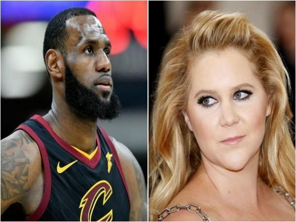 LeBron James and Amy Schumer