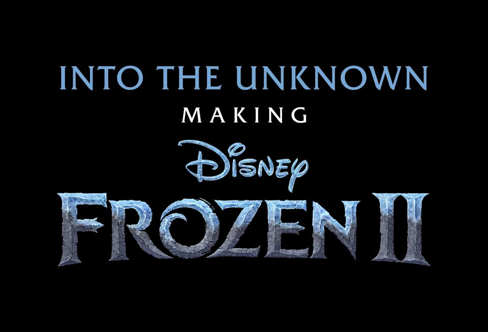 The logo for Disney's new documentary series.