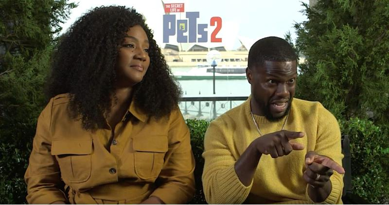 Kevin Hart's advice for Secret Life Of Pets 2