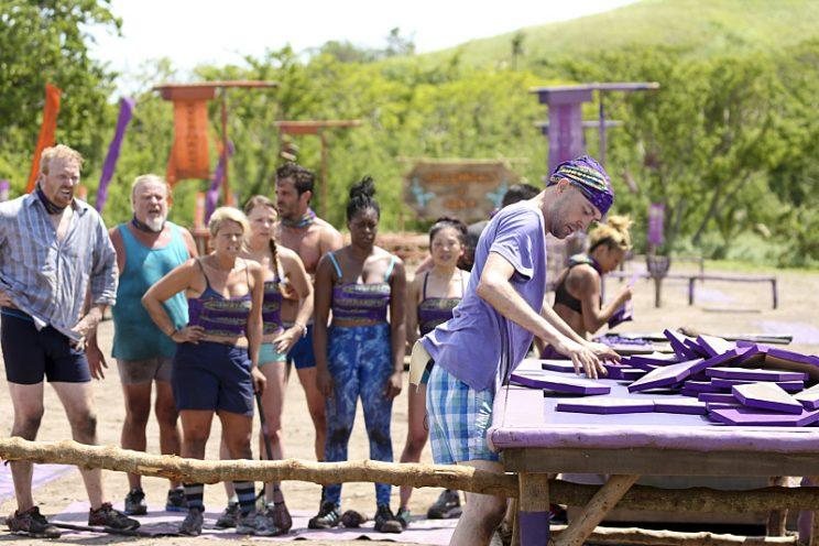 David Wright attempts to solve the puzzle for his tribe on SURVIVOR: Millennials vs. Gen. X, when the Emmy Award-winning series returns for its 33rd season with a special 90-minute premiere, Wednesday, Sept. 21 (8:00-9:30 PM, ET/PT) on the CBS Television Network. Photo: Monty Brinton/CBS Entertainment ©2016 CBS Broadcasting, Inc. All Rights Reserved.