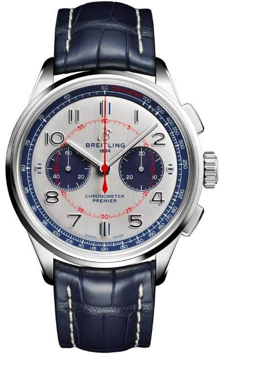 """<p>Premier Bentley Mulliner Limited Edition (available from May 2020)</p><p><a class=""""link rapid-noclick-resp"""" href=""""https://www.breitling.com"""" rel=""""nofollow noopener"""" target=""""_blank"""" data-ylk=""""slk:SHOP"""">SHOP</a></p><p>Breitling continues to roll out new watches for 2020 with the new Premier Bentley Mulliner Limited Edition. Bentley and Breitling have been partners for 17 years, ever since the watchmaker produced onboard clocks for the Continental GT during its initial production of its 'everyday supercar' in 2002. It is the longest-running association between a watchmaker and a car brand. Limited to 100 pieces, the watch features a solid 42mm polished steel case with a push/pull crown and rectangular chronograph pushers. The enlarged Arabic numbers and red and blue detailing lend this piece a vintage, dressy feel. </p><p>£7,000; <a href=""""https://www.breitling.com/"""" rel=""""nofollow noopener"""" target=""""_blank"""" data-ylk=""""slk:breitling.com"""" class=""""link rapid-noclick-resp"""">breitling.com</a></p>"""