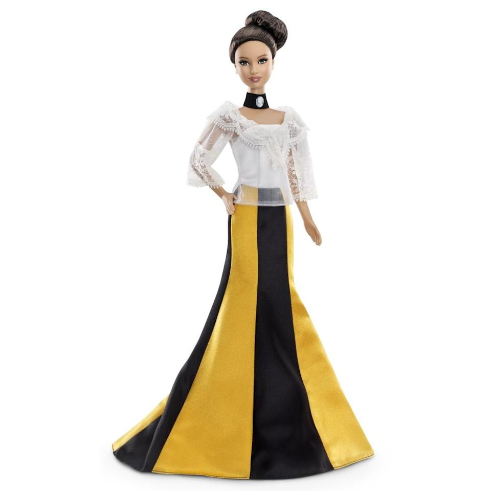 """<div class=""""caption-credit"""">Photo by: Mattel.com</div><b><div class=""""caption-title"""">Philippines Barbie</div></b>The 2012 Philippines Barbie is the first doll ever to represent the Pacific nation. She's wearing what Mattel calls """"a modern take"""" on the country's traditional """"Maria Clara"""" gown, which takes its name from a famous Filipino novel."""