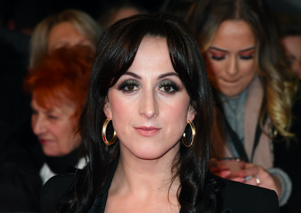 Natalie Cassidy attends the National Television Awards 2020 at The O2 Arena on January 28, 2020 in London, England. (Photo by Gareth Cattermole/Getty Images)