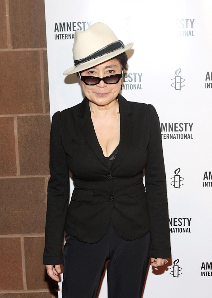"<a href=""http://movies.yahoo.com/movie/contributor/1800060374"">Yoko Ono</a> attends the New York City premiere of <a href=""http://movies.yahoo.com/movie/1810073977/info"">Nowhere Boy</a> on September 21, 2010."