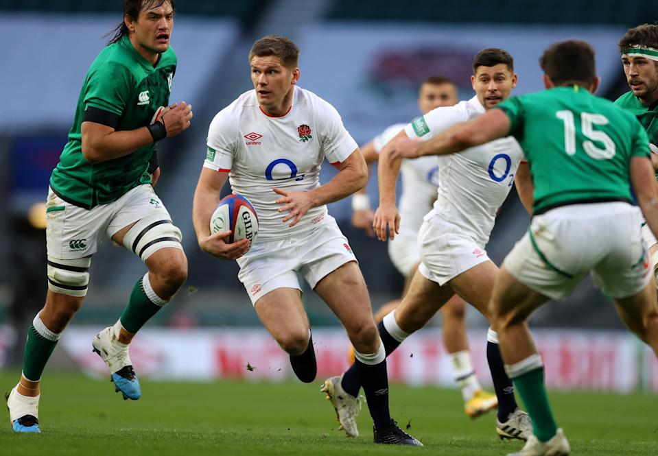 Owen Farrell moves to centre for England's clash with Wales as George Ford returns (Getty)