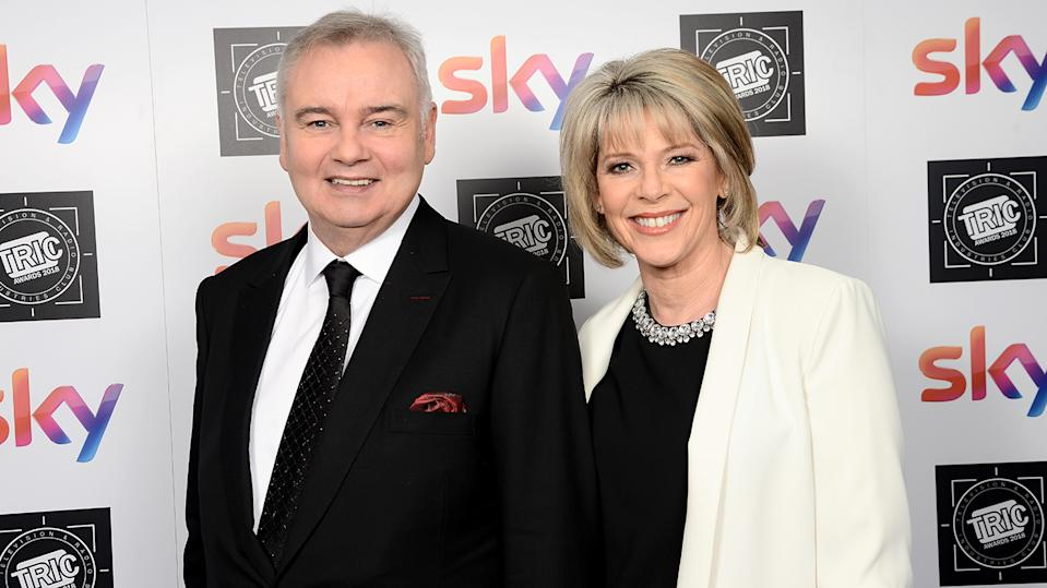Ruth Langsford and Eamonn Holmes have been presenting This Morning together since 2006 (Image: Getty Images)